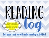 The Ultimate Weekly Reading Log with Reading Strategies!