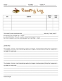 Reading Log with Reflection