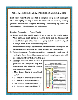 Reading Log: Record, Track & Remind