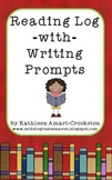 Reading Log with Writing Prompts
