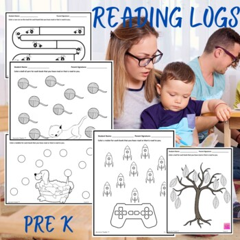 Reading Logs (12 Different Themes)