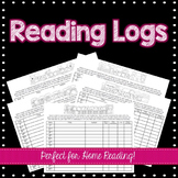 Monthly Home Reading Logs