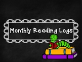 Monthly Family Reading Logs
