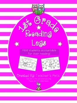 Reading Logs (1st Grade)