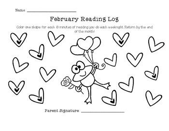 Reading Logs (1st Grade)