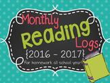 Reading Logs {2016-2017}