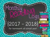 Reading Logs {2017-2018}
