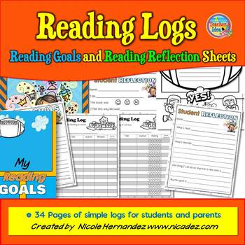 Reading Logs and Reading Goals Pack