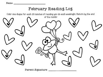 Reading Logs (2nd Grade)