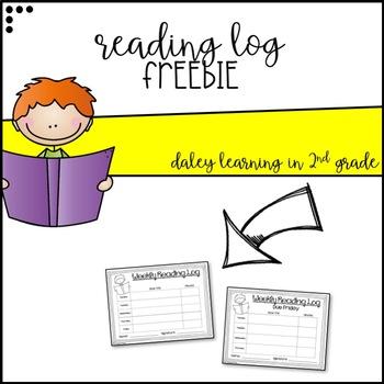 Reading Log {FREEBIE}