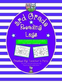 Reading Logs (3rd Grade)