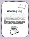 Reading Logs - A Collection