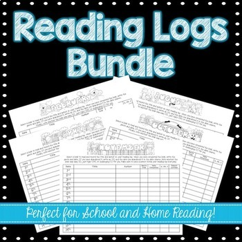 Daily Reading Logs Bundle