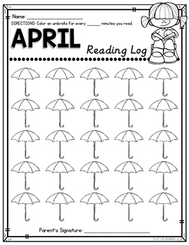 Reading Logs {Differentiated}