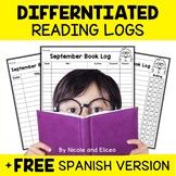 Reading Logs - Beginner Readers