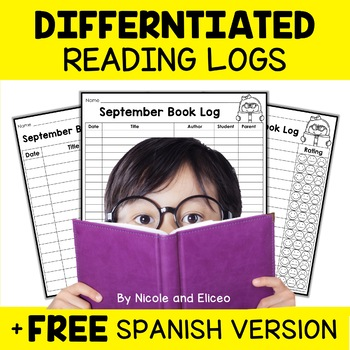 Differentiated Reading Logs for Homework