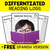 Reading Logs - Beginner Readers