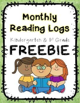 Reading Logs *FREEBIE*