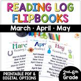Reading Logs - Spring Flip Books