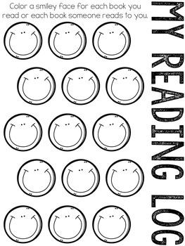 Reading Logs For Beginning Readers FREEBIE