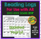 Reading Logs For Use with Accelerated Reader