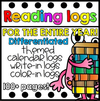 Reading Logs-For the Entire Year