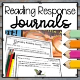 Reading Response Journals Distance Learning