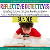 Reading Logs Graphic Organizers Bundle ~ Reflective Detectives