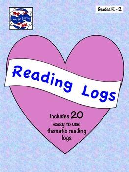 Reading Logs K-2
