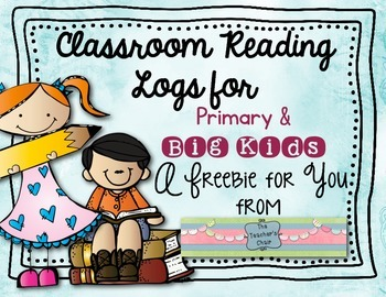 Reading Logs Month by Month Freebie