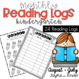 Reading Logs - Monthly