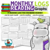 Reading Logs   for Every Month   [Counting and Graphing]   Beginning Readers