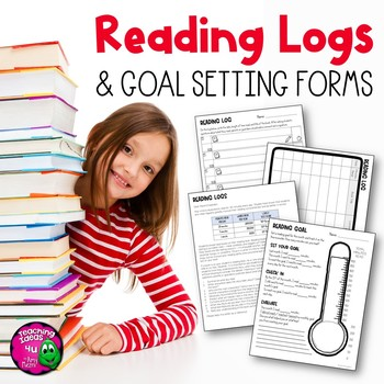 Reading Logs, Monthly Goal Setting Form, & Parent Letter - FREE