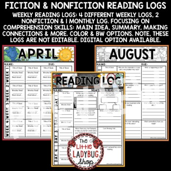 Independent Reading Logs