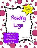 Reading Logs - Record Independent Reading at Home or School