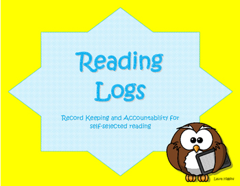 Reading Logs- Record Keeping and Accountability for Self-s