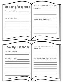 Reading Logs & Responses!
