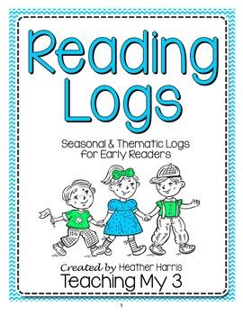 Reading Logs: Seasonal & Thematic Logs