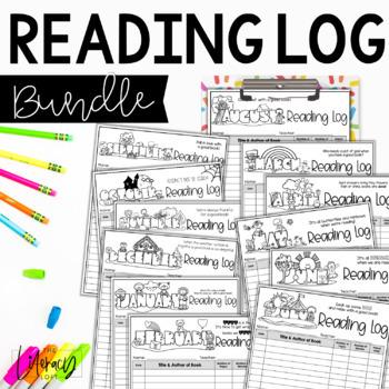Reading Logs {The Bundle}
