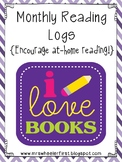 First Grade Reading Logs