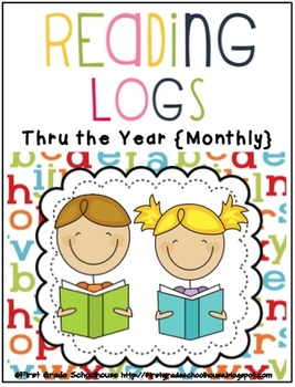 Monthly Reading Logs Thru the Year