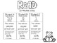 Fun Reading Logs with quotes and reading facts.  K-5