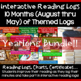 Back to School Bundle Activities Reading Logs for School Year