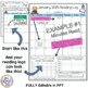 Monthly Reading Logs Editable - Monthly Reading Calendars FREE LIFETIME UPDATES!