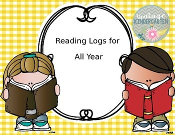 Reading Logs for All Year