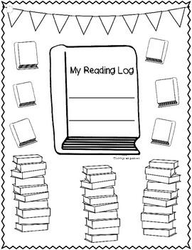Reading Logs for BIG KIDS!