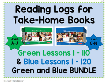 Reading Logs for Green and Blue LLI Kits BUNDLE