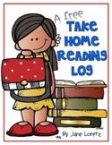 Take Home Reading Log