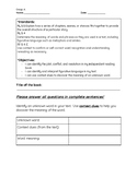 Reading Logs for Independent Reading Group A