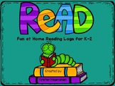 Reading Logs for K-2